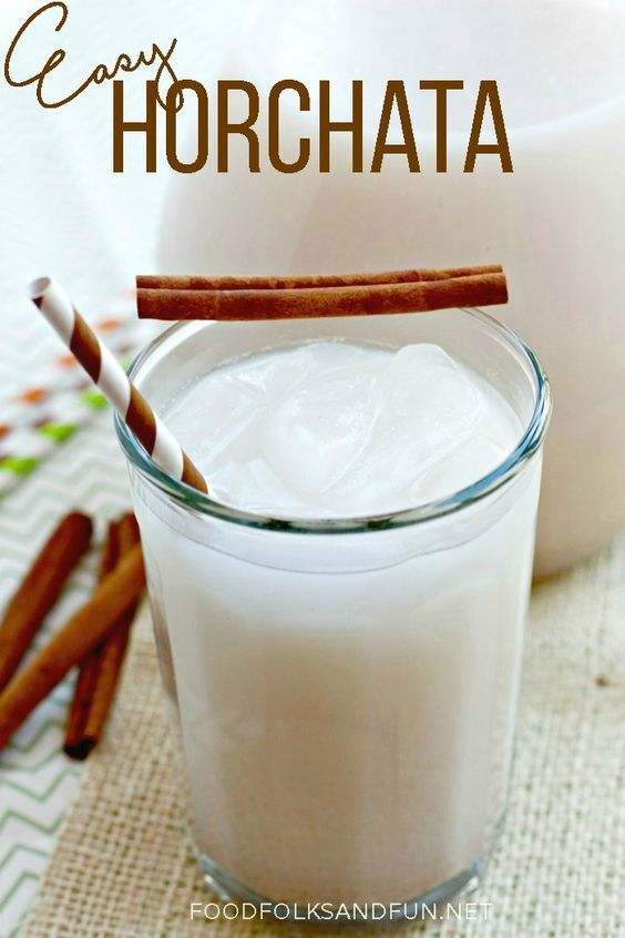 Easy Horchata Recipe - you need only 20 minutes to make it!