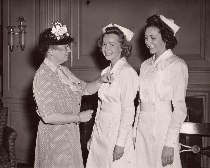 Nursing Pinning Ceremony 1964 Vintage Simmons Photos