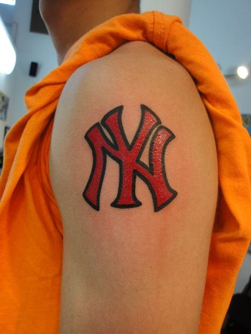 23 best images about new york yankees tattoos on pinterest. Black Bedroom Furniture Sets. Home Design Ideas