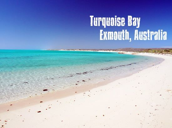 #Swimming destination: Turquoise Bay, Exmouth, Australia