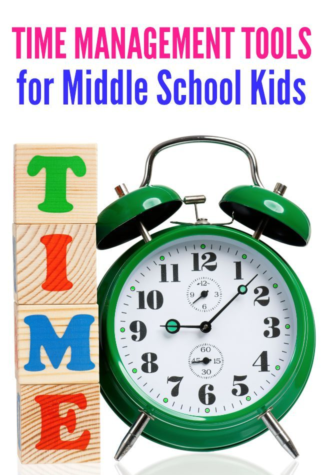 Middle school kids are ready for more independence and autonomy. These 3 tools will help them learn to manage their day.