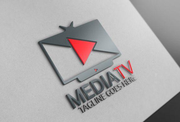 Media Tv Logo @creativework247
