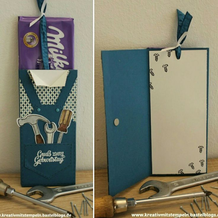 Ziehschokolade für Männer, #Hammer #stampinup