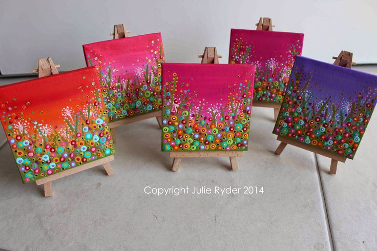 Made-By-Me....Julie Ryder: Tiny and Mini Canvas.....