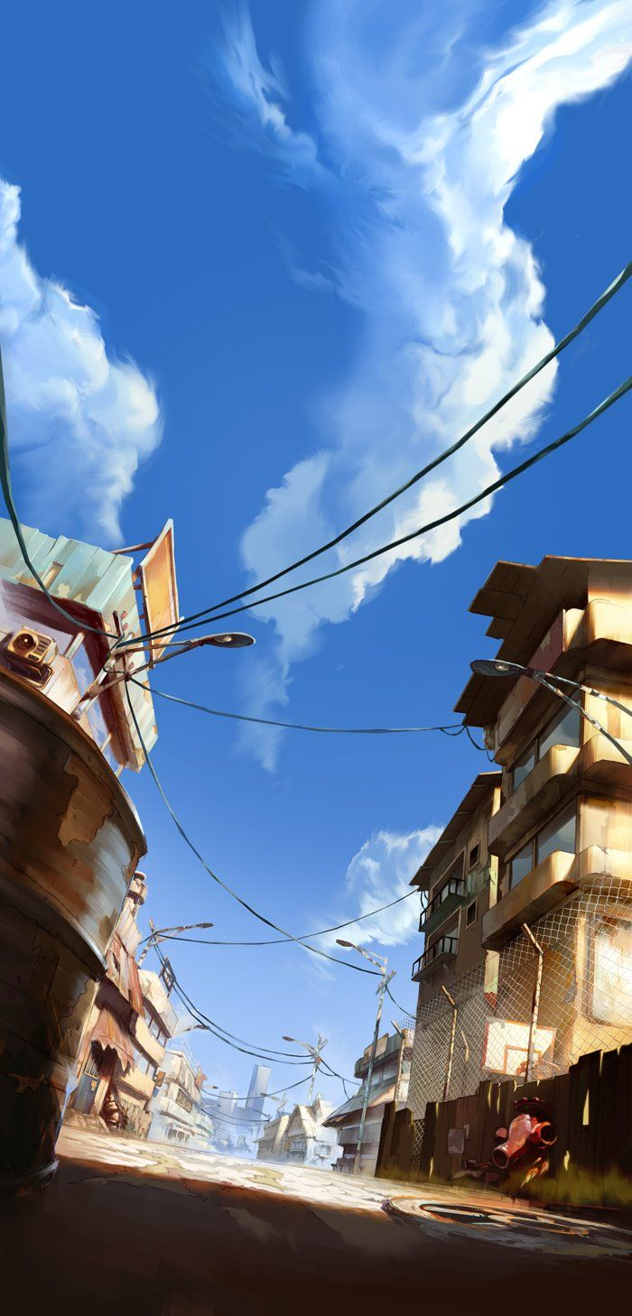 """It's much of a """"concept art"""" but personally I love the colors here (Streetbattle, Manuel Tanontchi)"""
