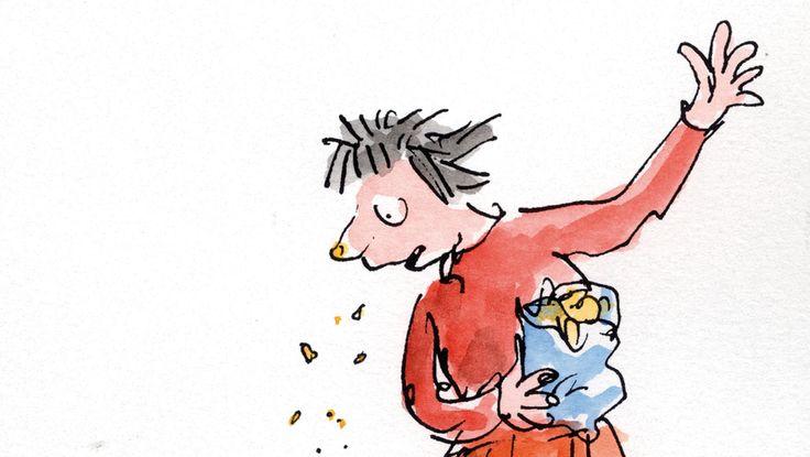 - Matilda by Roald Dahl. Illustration by Quentin Blake ...
