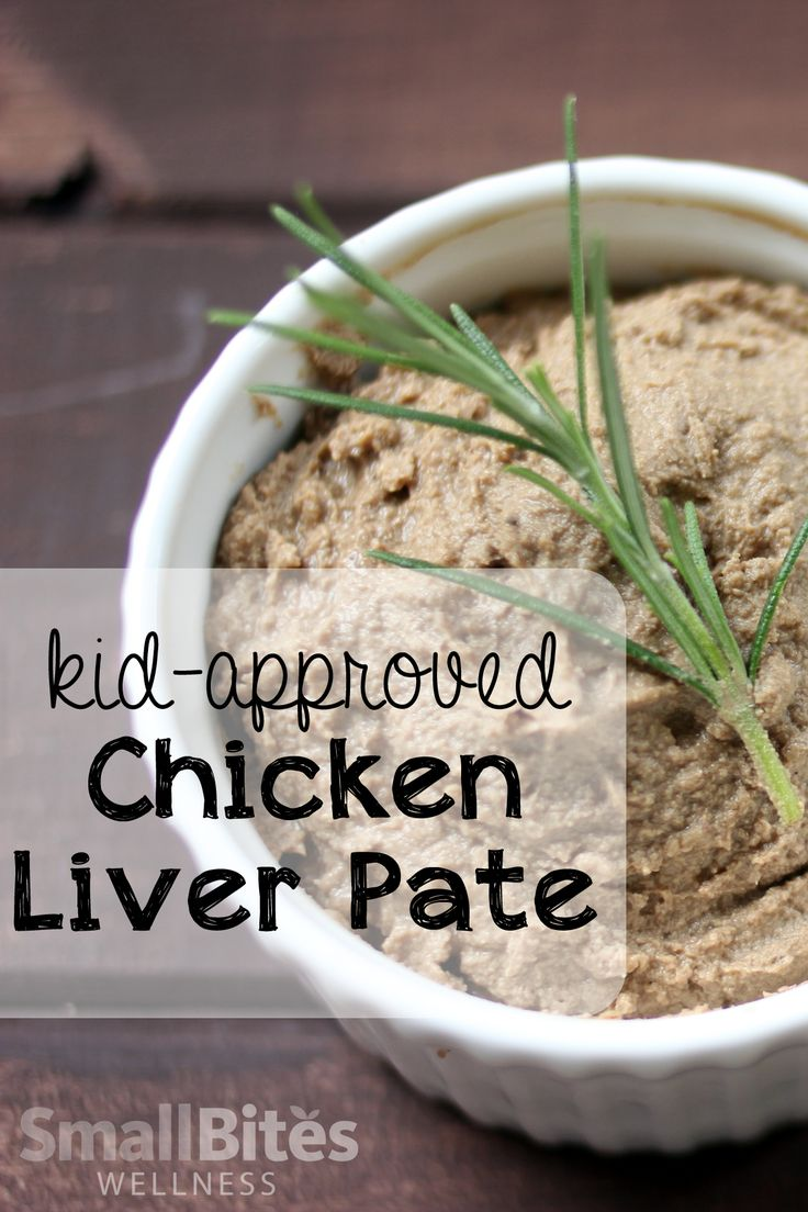 Liver doesn't have to make you grimace. This chicken liver pate is buttery, smooth, and especially delicious on fresh cut veggies or rice crackers.
