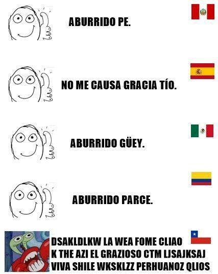 Jajaa! Omg, los chilenos xDD