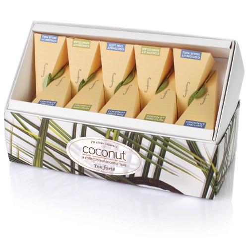 Coconut Tea Sachet Collection Assortment by Beau-coup