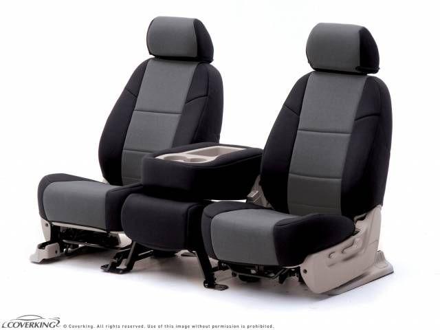 Charcoal & Black Neoprene Seat Covers