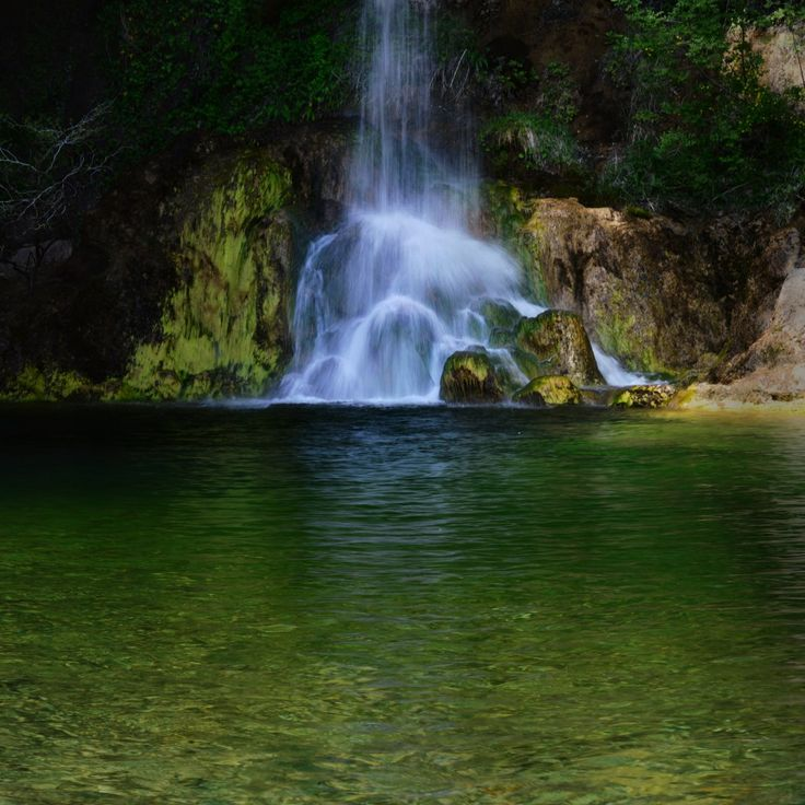 Drymona Falls, North Evia, Greece