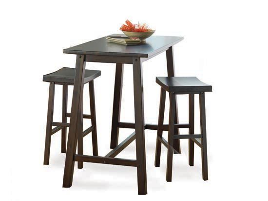 Scandinavian Designs - Bars/Barstools - Zen Counter Height Table