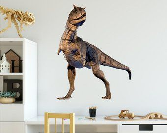 T Rex Dinosaur Wall Decal Vinyl Sticker Jurassic Park Prehistoric Tyrannosaurus