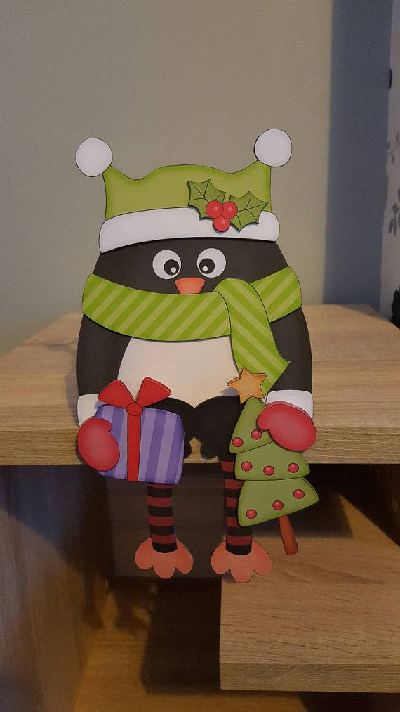 Check out this item in my Etsy shop https://www.etsy.com/uk/listing/486722689/penguin-in-green-on-the-shelf-christmas