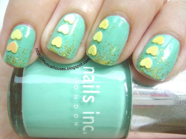 Mejores 106 imágenes de Heart nails en Pinterest | Uñas bonitas ...