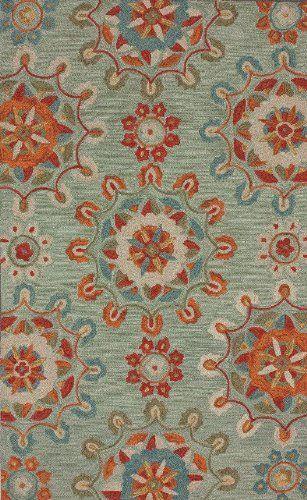 5' x 8' Felic Area Rug In Spa Blue Hand Tufted Carpet by Rugs USA, http://www.amazon.com/dp/B008B8YEFK/ref=cm_sw_r_pi_dp_U1T8rb1E1VGVP