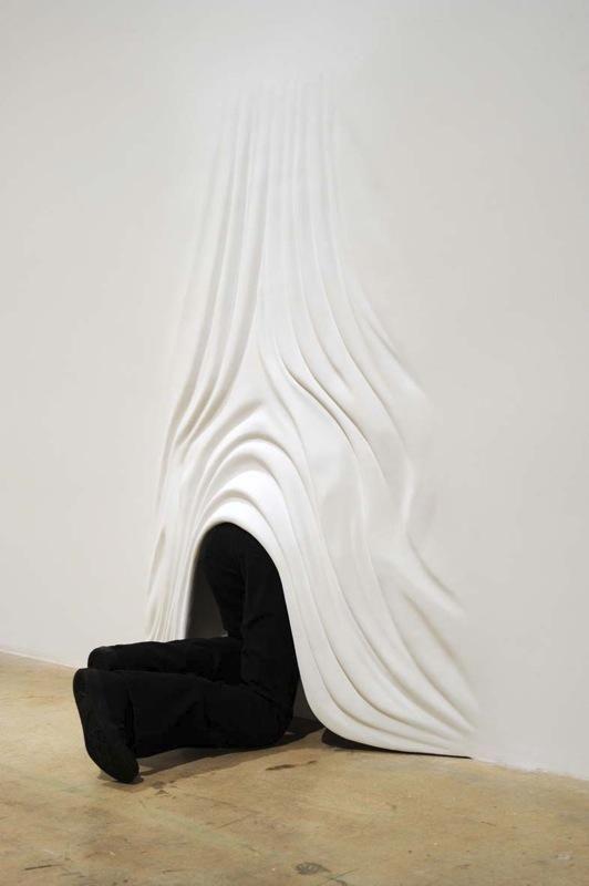 Les murs blancs de Daniel Arsham