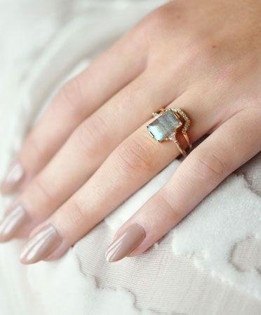 Labradorite Bea Ring by Anna Sheffield