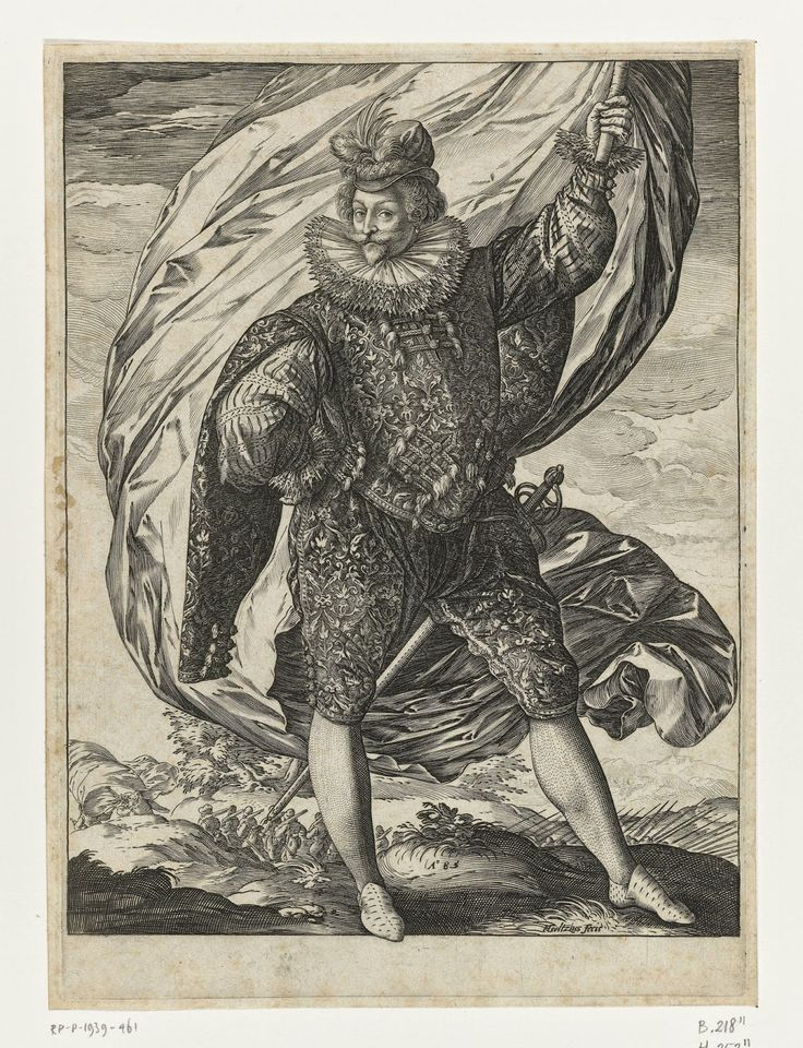 (Rijksmuseum, Amsterdam, The Netherlands) Hendrick Goltzius was Dutch printmaker, draftsman, and painter and was the leading Dutch eng...