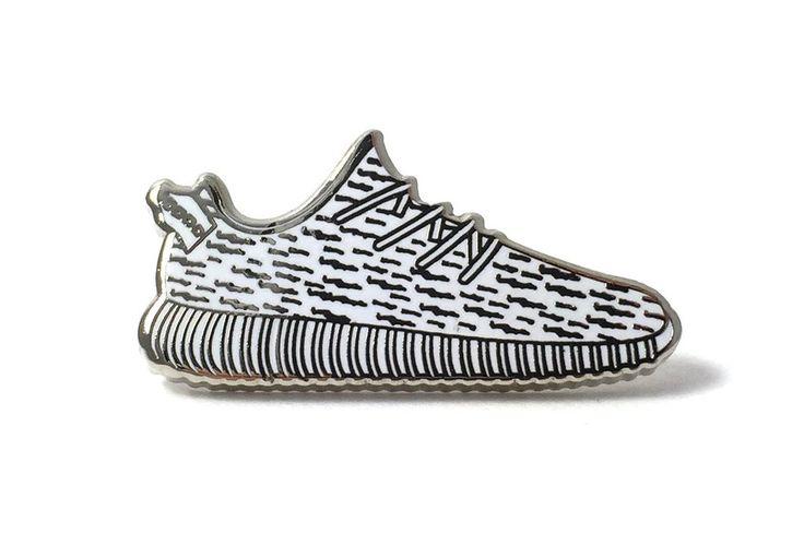 Yeezy Sneaker 2 Pin - White
