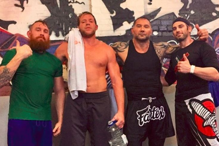 """Jack Swagger's MMA training includes punching Batista in the face: After parting ways with WWE back in March, Jake """"Jack Swagger"""" Hager…"""