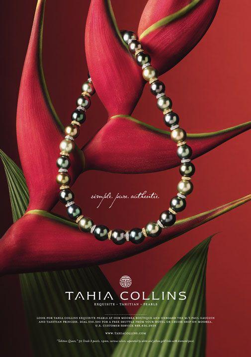 Tahia Pearls Full Page Ad