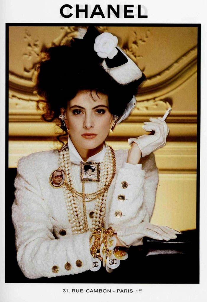 Inès de la Fressange, Chanel 1986