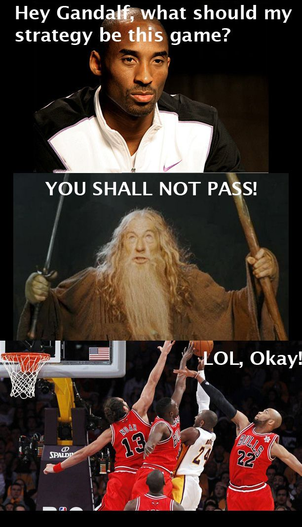 Gandalf Giving Kobe Advice | What's The Best Kobe Bryant Meme?