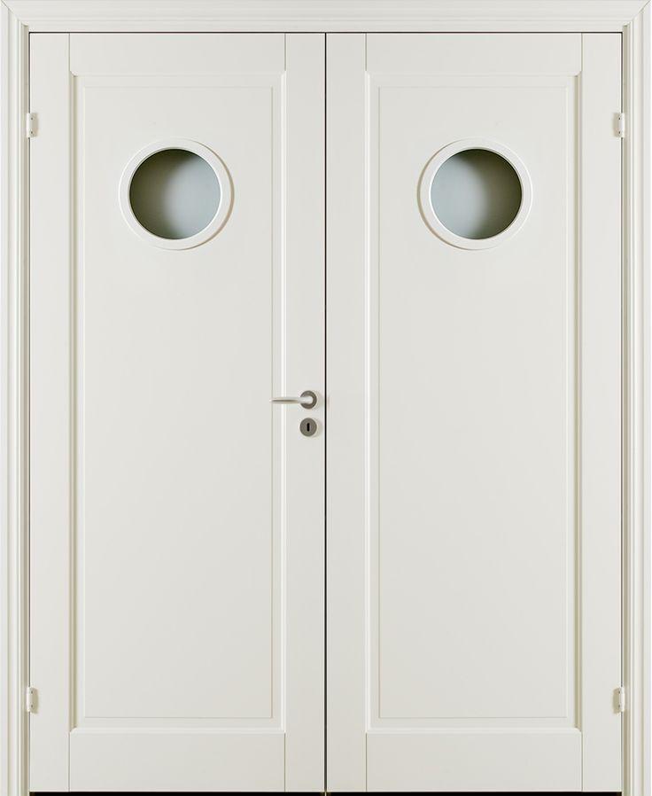Oden Cg1 Double Door - Interior Door made by GK Door, Glommersträsk, Sweden.  www.gkdoor.se