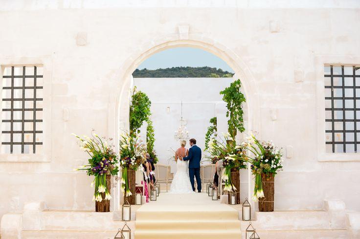 #weddinginitaly #whitewedding #ceremony