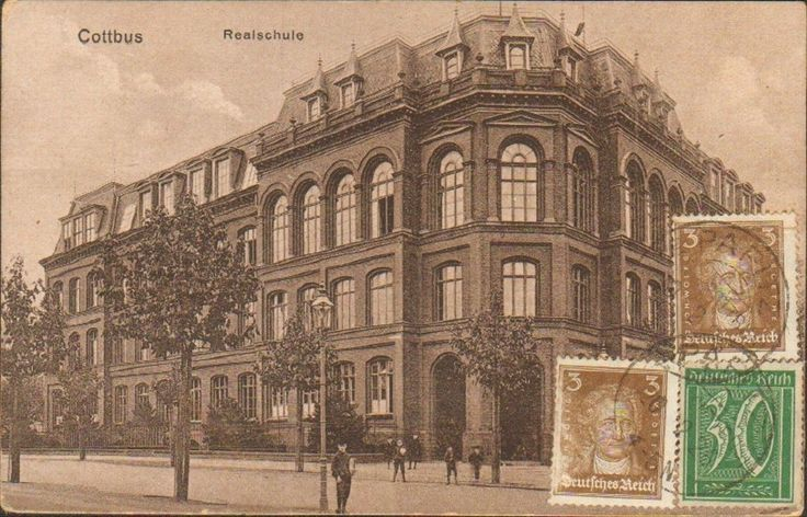 RARE TCV Postcard Germany Cottbus 1927 Collectors Stamp TCV 39   eBay