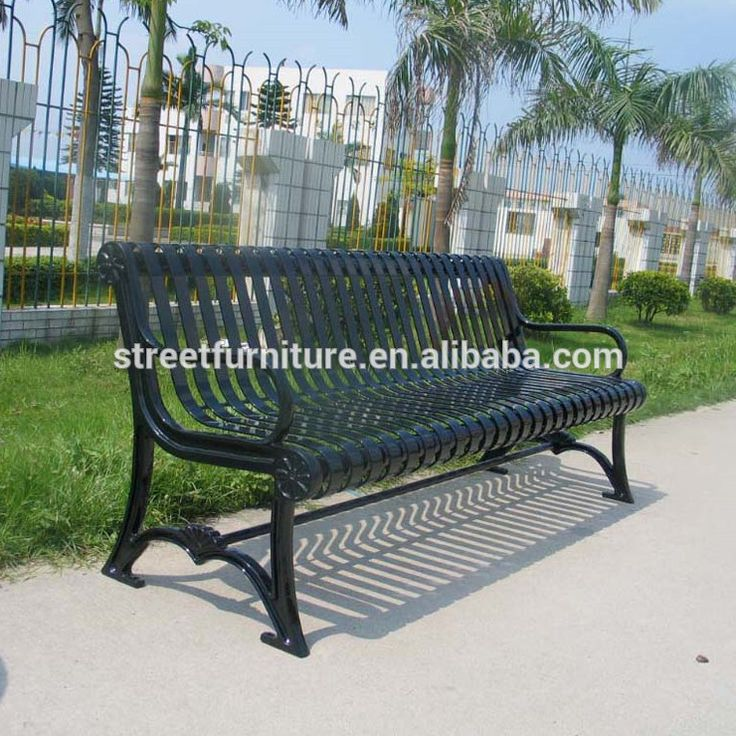 Metal Park Bench Cast Iron Park Bench Metal Outdoor Bench