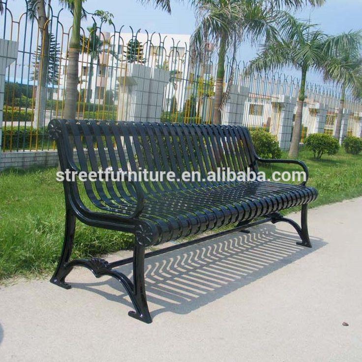 Metal park bench cast iron park bench metal outdoor bench