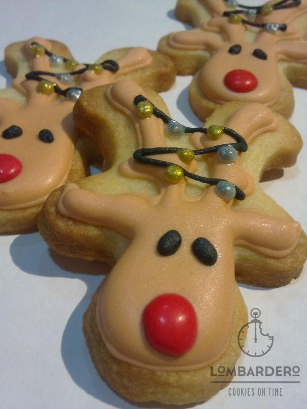 renos – Galletaslombardero Galletas de Navidad Christmas cookies