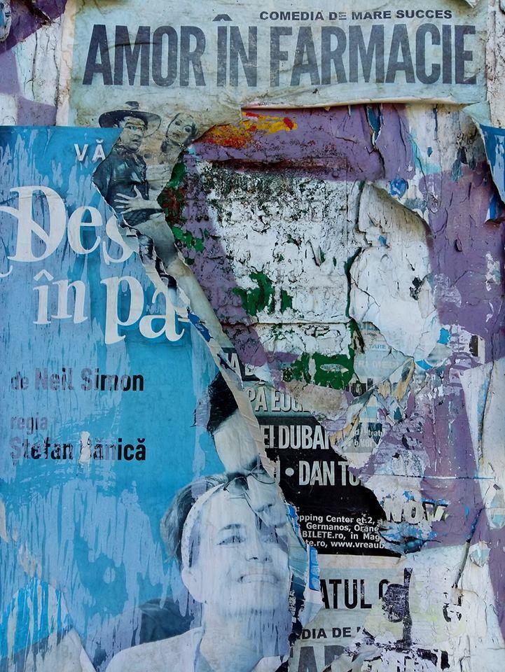 Lucian Muntean Poveștile zidurilor dada Dadawall collage decollage, fotografie