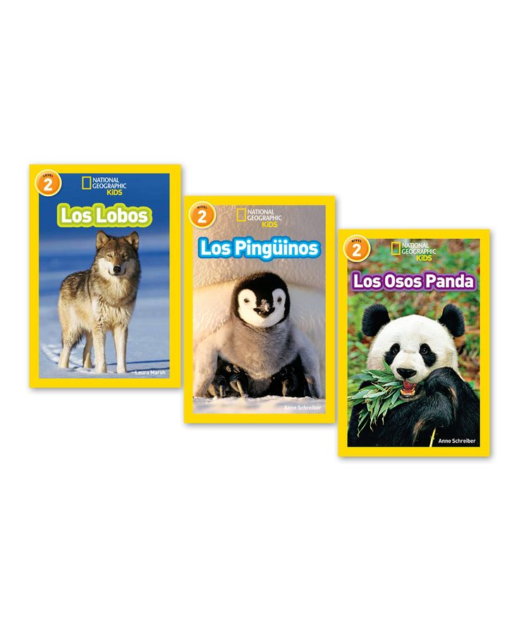National Geographic Animals Level Two Spanish Paperback Set