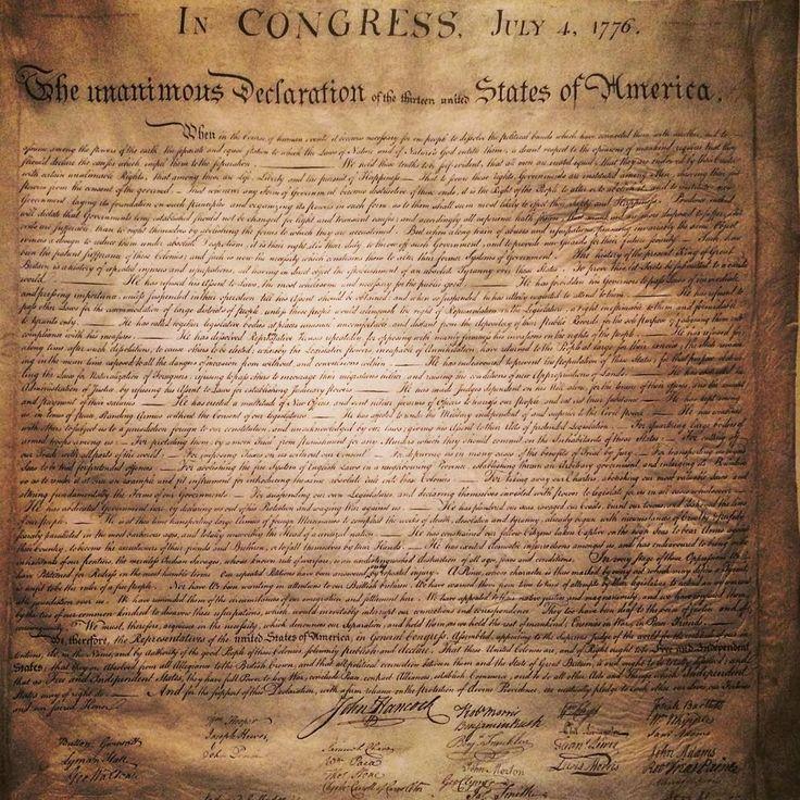 Легендарная Декларация независимости. Как сфоткал — не спрашивайте. #history #declarationofindependence #washington #washingtondc #nationalarchives #usa #travel http://tipsrazzi.com/ipost/1523820503398249362/?code=BUlsqyegnOS