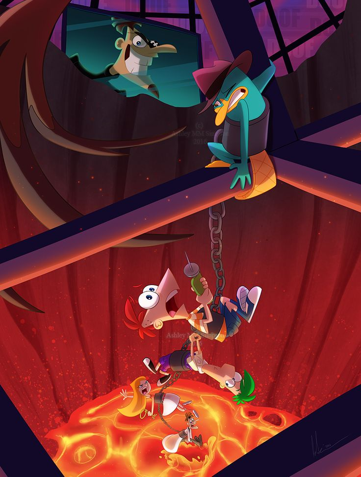 Phineas and Ferb stuff found here. If you're looking for the fanfic The Seer go to pnf-the-seer.deviantart.com . If you're looking for more Francis Flynn, Mitch Beauregard, Lucy, Sunny and Charlene...