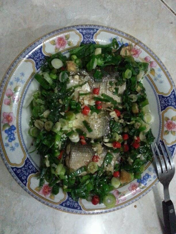 Eksekusi Fish steam ala chef :p #belajarmasak
