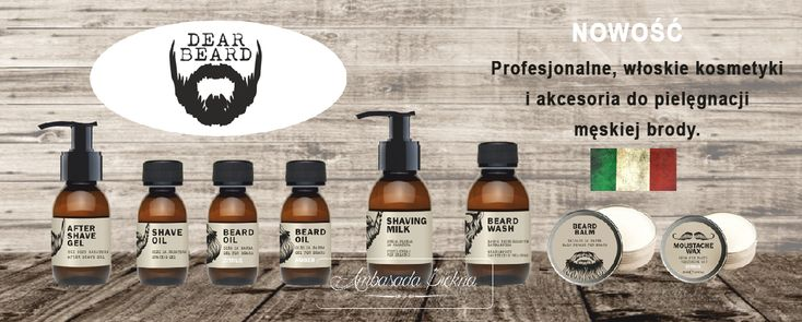 DEAR BEARD - kosmetyki do męskiej brody - Ambasada Piękna