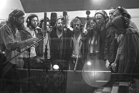 Edward Sharpe and The Magnetic Zeros, 'Mother' -- Song PremiereBand, Second Album, New Music, Announcements, Magnets Zero, Zero Mothers, Zero Records, Edward Sharpe, The Roller Coasters