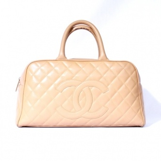 Chanel large Bowler tote $979Totes 979, Chanel Large, Large Totes, Bowler Totes, Large Bowler
