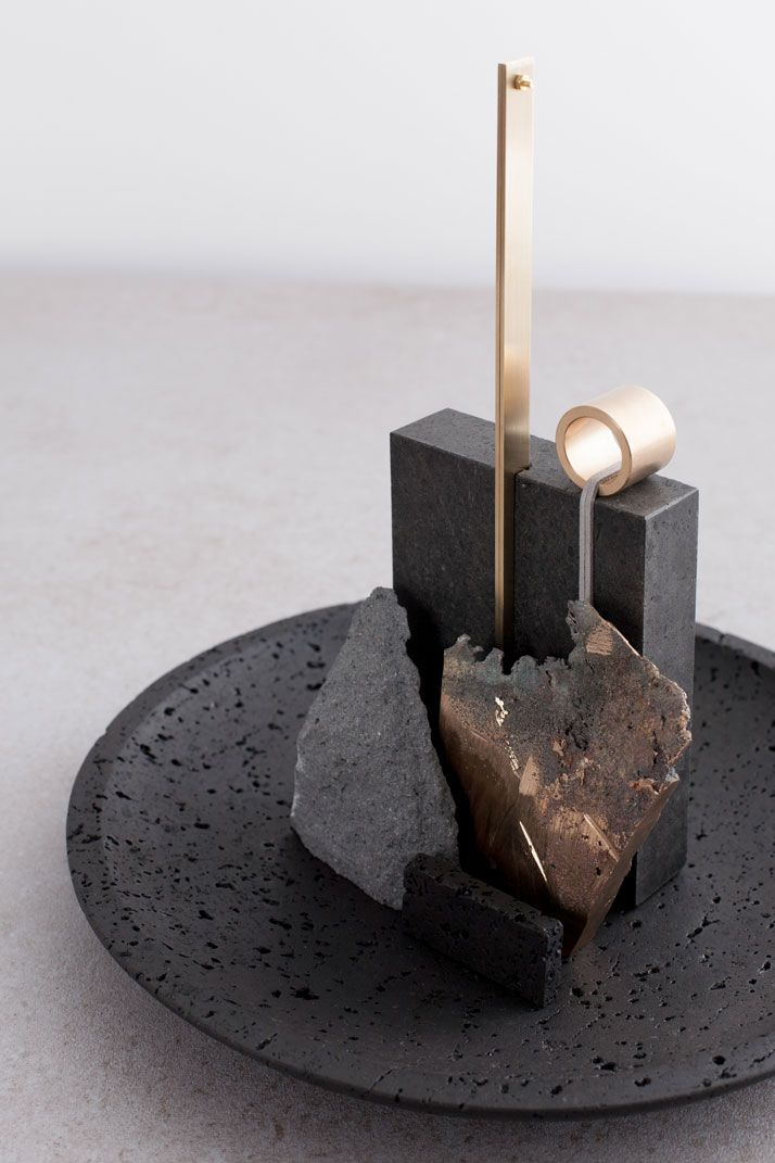 A Force of Nature: Studio Formafantasma Transforms Volcanic Rocks into Design Objects | http://www.yatzer.com/de-natura-fossilium-formafantasma