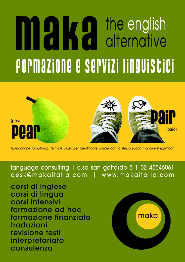 maka: formazione e servizi linguistici | professional language training & language services