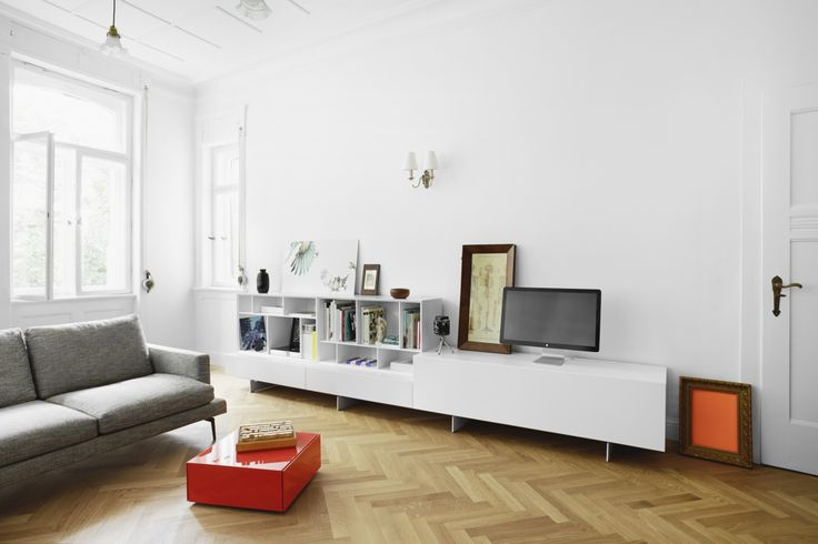 129 best Bank images on Pinterest Living room, Credenzas and - Laminat Grau Wohnzimmer