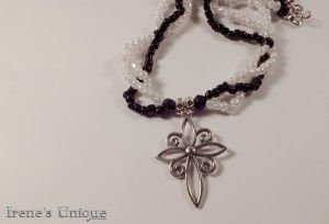 Colier handmade ✿ Silver Star 19,00 RON