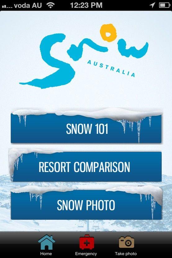 Project Snow 101 Application Client: Snow Australia