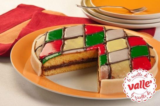 Un #dolce speciale ispirato al #Carnevale, ecco la #Torta Arlecchino.  Scopri la ricetta...