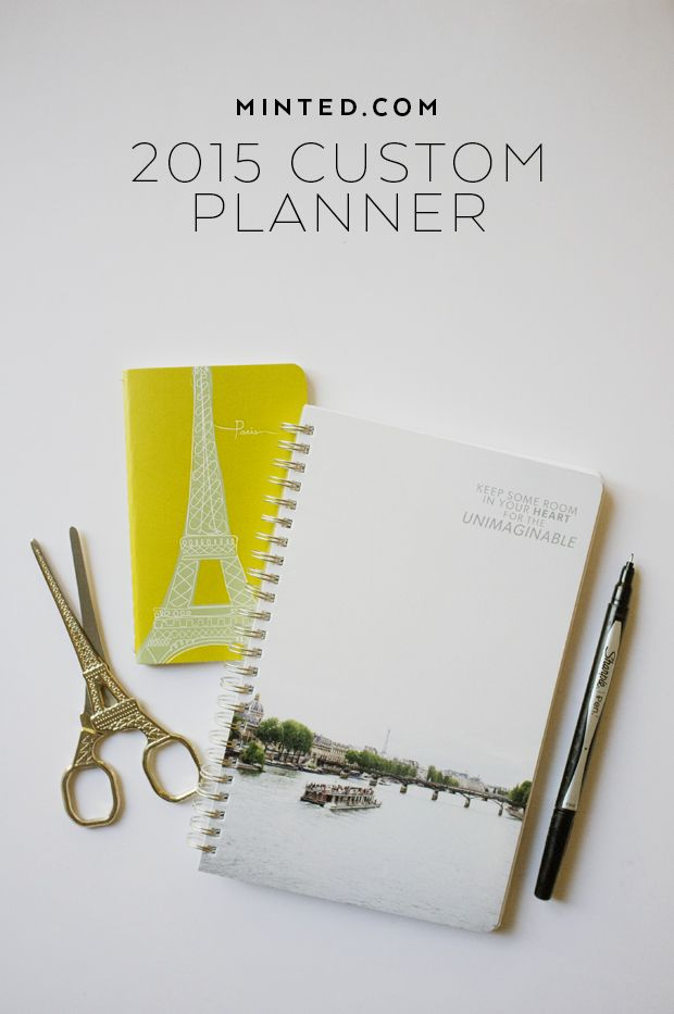 Custom Planners from Minted.com