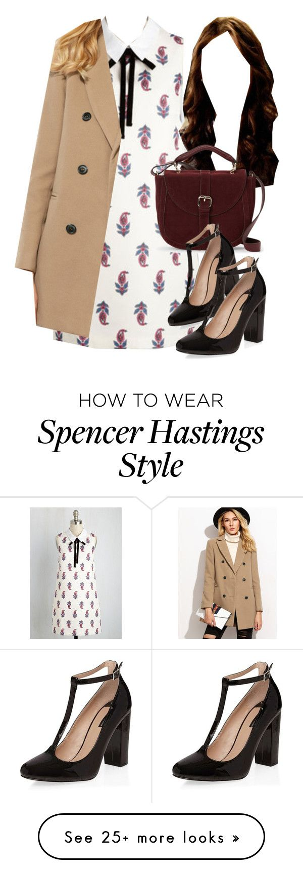 """""""Spencer Hastings inspired outfit with requested dress"""" by liarsstyle on Polyvore featuring IMoshion, Dorothy Perkins, date, Semi and WF"""
